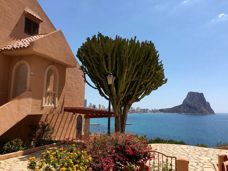exemple appartement calpe adosado 188k chasseur immobilier costa blanca espagne